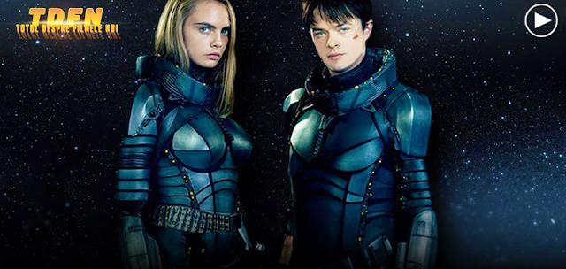 Clip de pe platourile de filmare despre filmul SF: Valerian Si Orașul Celor O Mie De Planete
