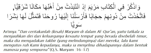Al-Qur'an Surah Maryam ayat 16-17