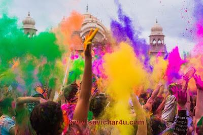 Colorful holi ki hardik shubhkamanye