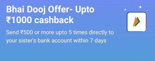 Paytm UPI Offer - Get Upto Rs.1000 Cashback