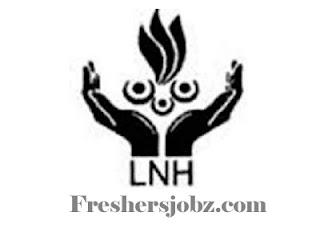 LNH Recruitment 2018 for Sr Residents-118 Posts