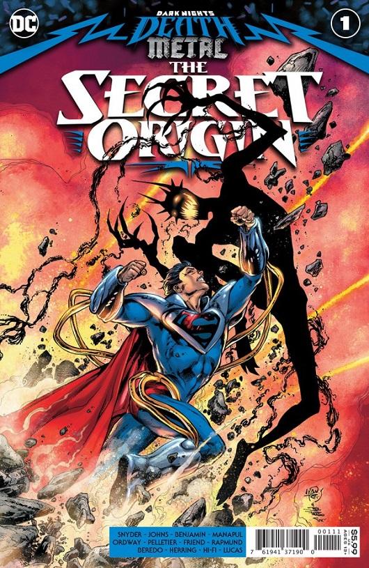 Cover of Dark Nights Death Metal Secret Origin #1