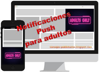 Notificaciones Push para webs de adultos