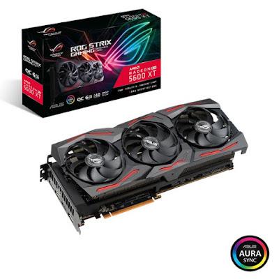 Atualizações da VBIOS para as placas gráficas ASUS ROG Strix e TUF Gaming X3 Radeon RX 5600 XT edição OC permitem que a memória GDDR6 seja executada a 14 Gbps
