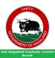 DSE Nagaland Graduate Teacher Result