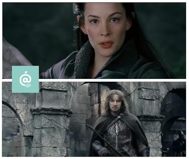 Arwen y Faramir - El Señor de los Anillos: Peter Jackson Vs Ralph Bakshi - JRRTolkien - ÁlvaroGP - el fancine - el troblogdita