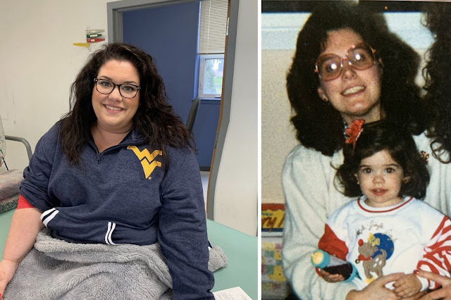 ماريسا Marisa Leuzzi أول متبرع ببلازما النقاهة في مركز الصليب الأحمر الأمريكي