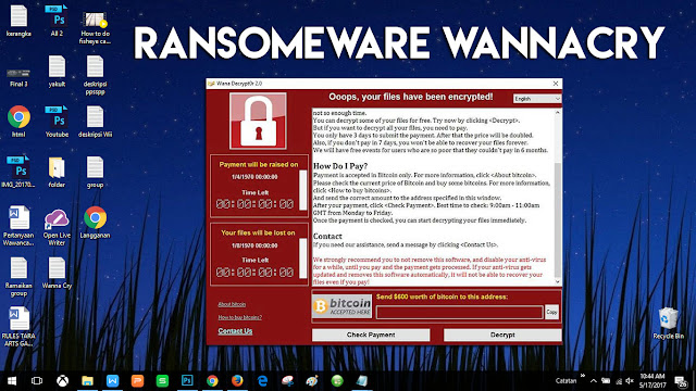 ini adalah alasan masuk akal, mengapa komputer kamu yang sangat bagus itu bisa terkena serangan virus wannacry, agar kamu paham