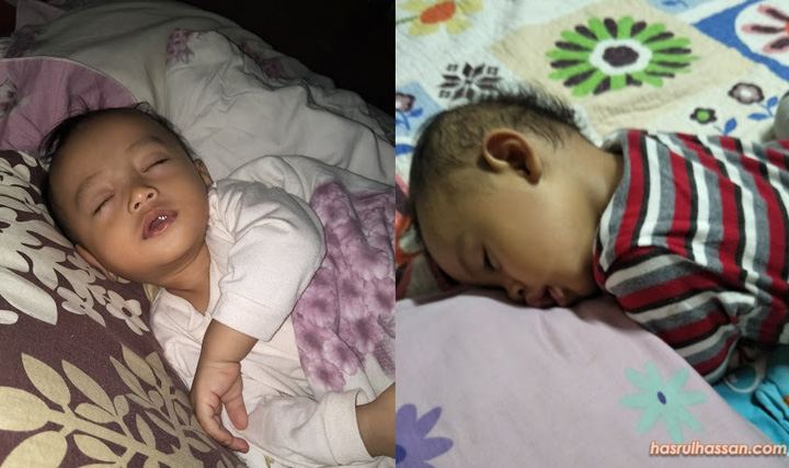 Tips untuk tidurkan bayi dan anak kecil dengan lena