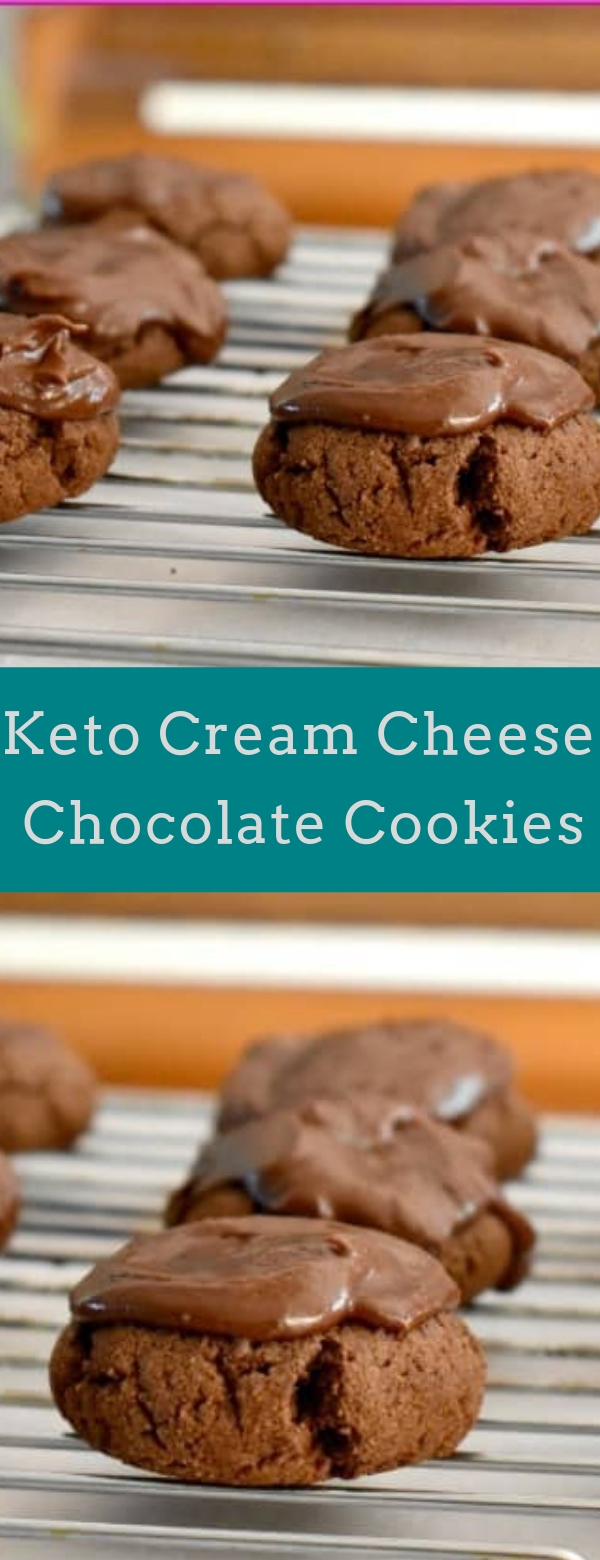 Keto Cream Cheese Chocolate Cookies