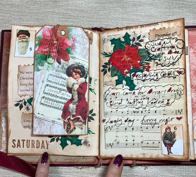 Junk Journal December Daily Week 2