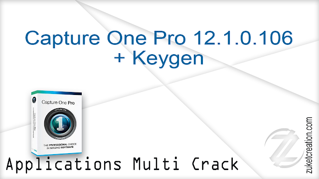 Capture One Pro 12.1.0.106 + Keygen  |  132 MB