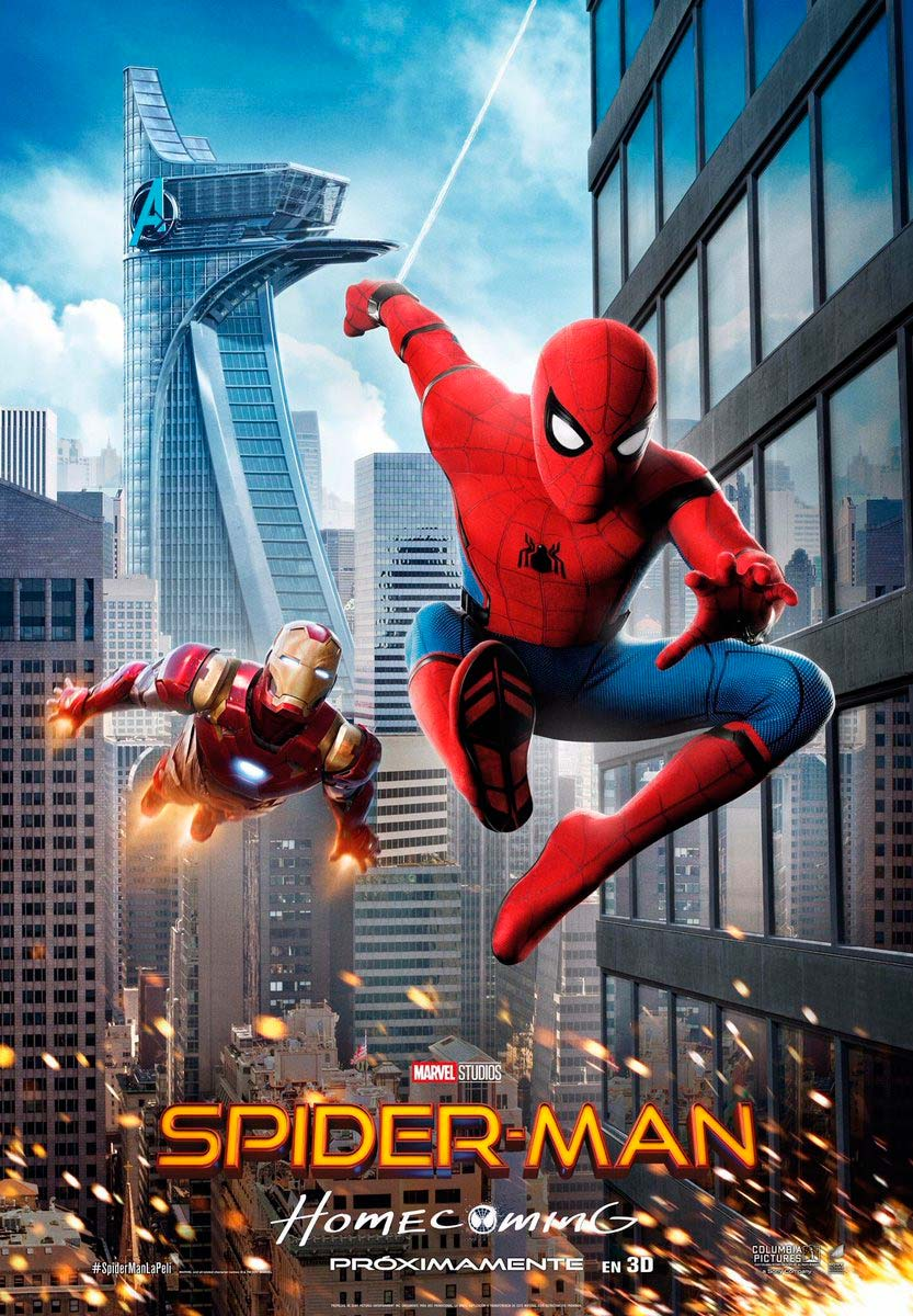 Spider-Man: Homecoming en el fancine
