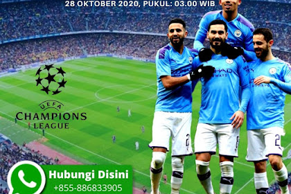 Fakta Duel Liga Champions Marseille vs Man City