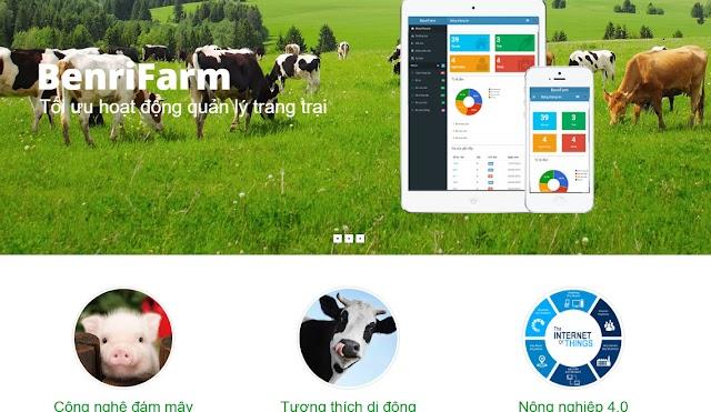 BenriFarm - quản lý trang trại bò sữa