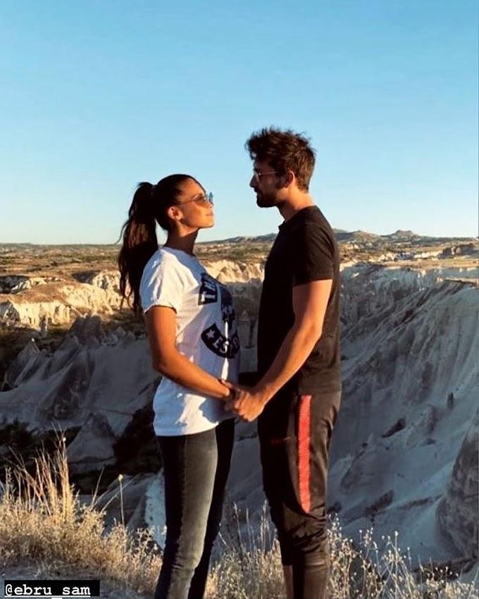 Alp Navruz, Cenk in 'Don't Let Go of My Hand', splits up with his girlfriend, actress Ebru Şam