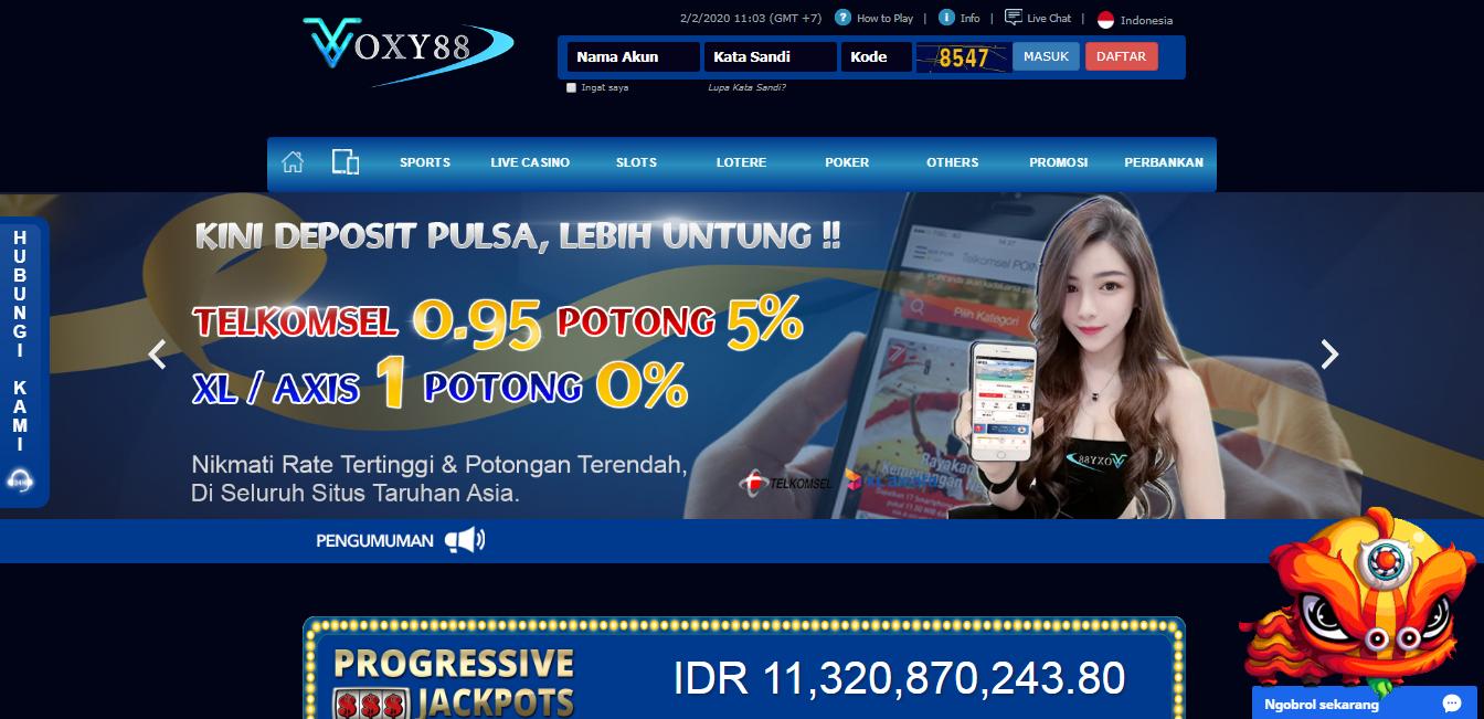Voxy88 Situs Slot Online Situs Poker Online Agen Bola Online Situs Slot Online Via Pulsa 5000