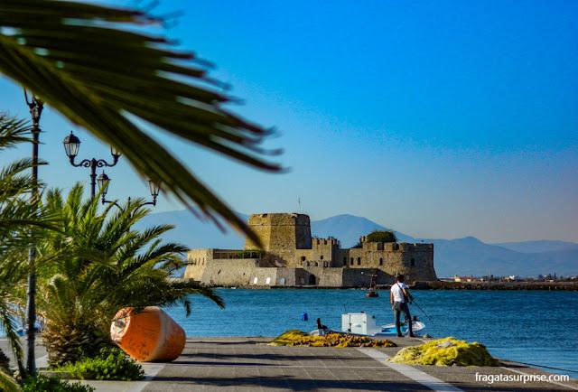 Forte Bourtzi, Nafplio, Grécia