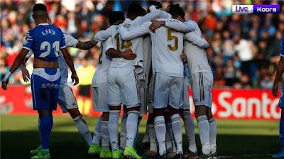 ملخص مباراة ريال مدريد وخيتافي 0-3