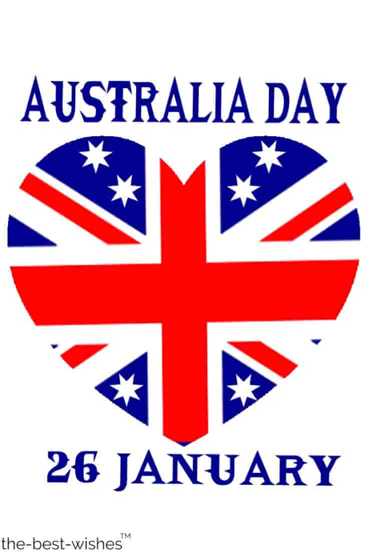 heart flag hd images of australia day