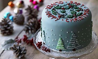 Merry Christmas Cake 2019