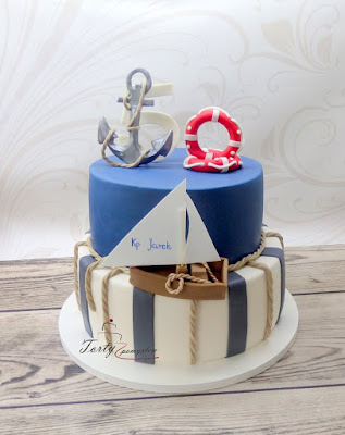 tort w stylu marynarskim