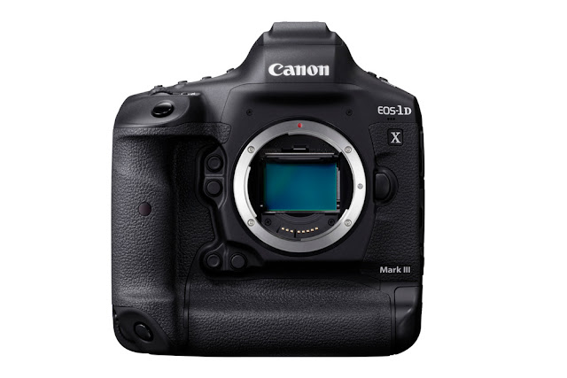 Canon EOS-1D X Mark III DSLR Body front