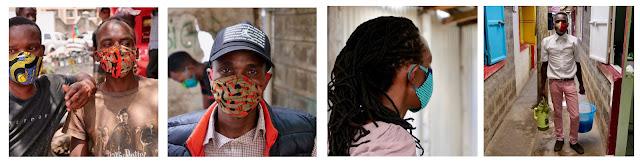 Facemasks from Blackfly Kenya