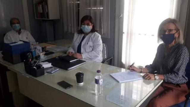 Συνάντηση στο Κέντρο Υγείας Λιβαδειάς είχε η Βουλευτής Γιώτα Πούλου