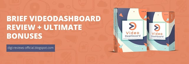 Video Dashboard Review: Brief Overview and Ultimate Bonuses Bundle!