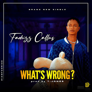 [Music] Fadrizz Callus - What's Wrong?