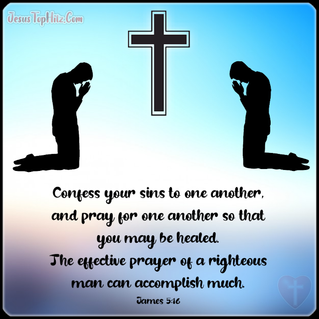 Confess Your Sins To One Another... Bible Verse Forgiveness...