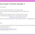 Langkah-Langkah Pengisian Daftar Hadir Online Dinas Pendidikan Kab. Garut