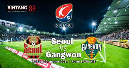 prediksi skor Seoul vs Gangwon 02 agustus 2017