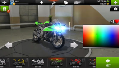 Traffic Rider Android game mod