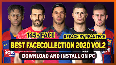 PES 2017 Facepack Collection 2020 VOL 2 by Rean Tech