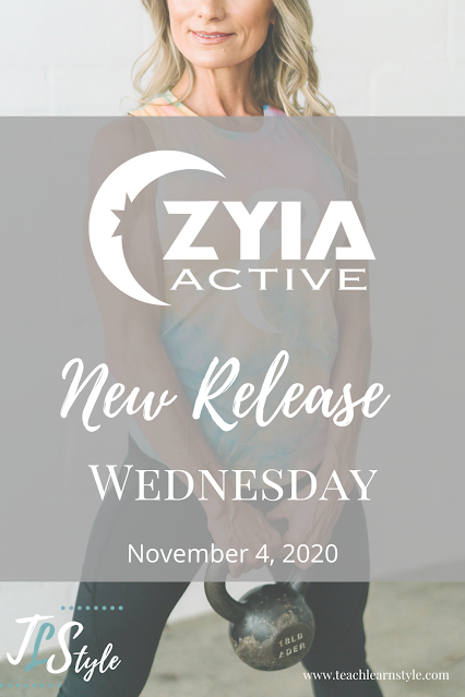 Zyia Active New Releases for November 4, 2020