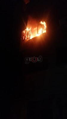 نشوب حريق في شقة الفنانة ريم أحمد بجسر السويس