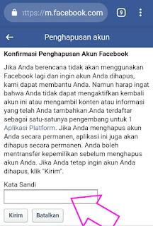 Cara Menghapus Akun Facebook Lite
