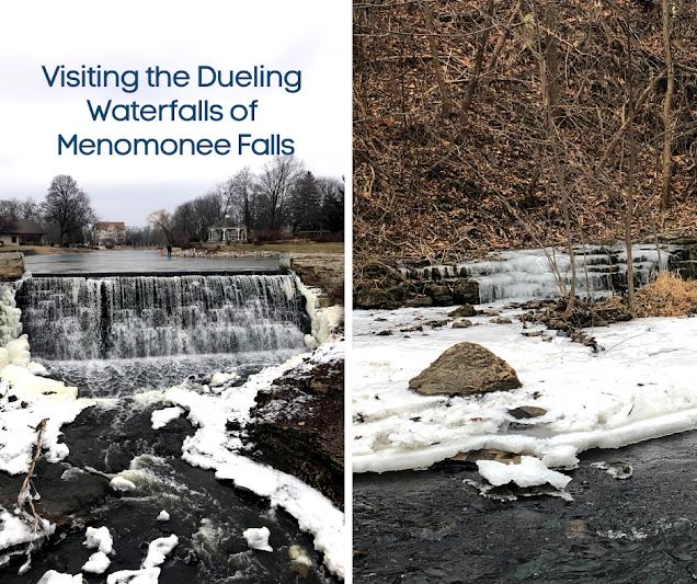 Visiting the Dueling Waterfalls of Menomonee Falls, Wisconsin