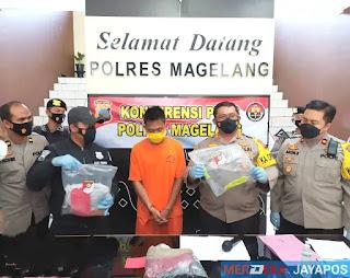 Respon Cepat Polres Magelang, Tangani Kasus Pembuhunan di Hotel Syailendra