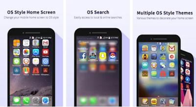 tema dan launcher untuk merubah android menjadi iphone