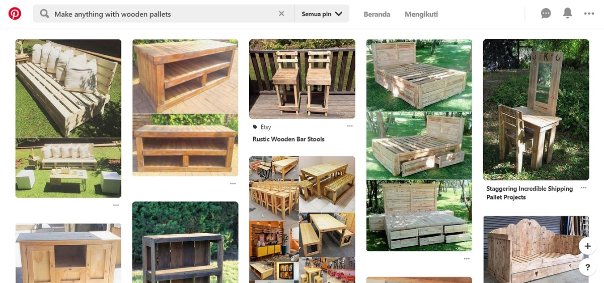 Make anything with wooden pallets