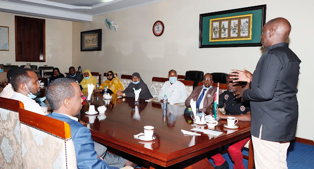 Deputy President William Ruto at Karen home