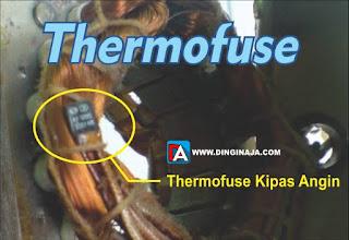 thermofuse pada kipas angin