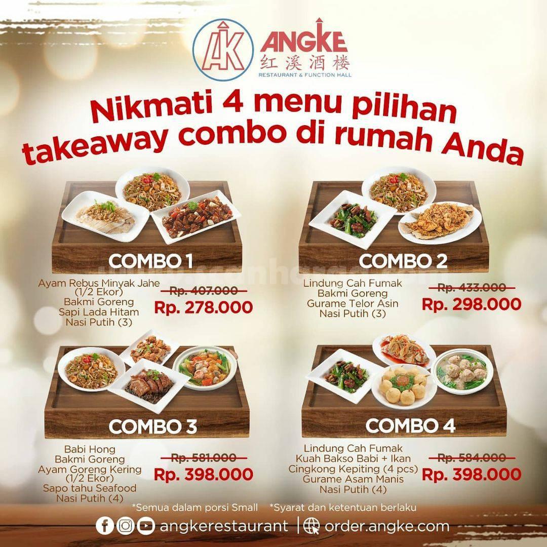 Angke Restaurant Promo Takeaway Combo – Harga Spesial mulai Rp. 278.000