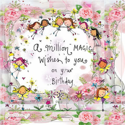 A million MAGIC  wishes to you
