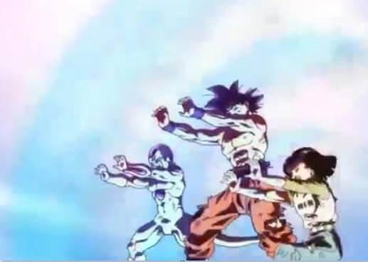 DBS 131 - Goku, Frieza, Android 17