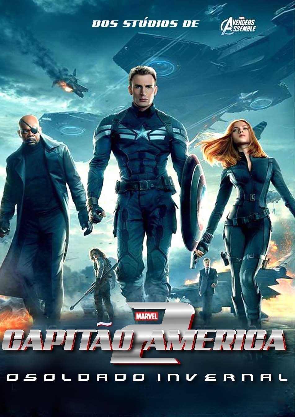 Capitão América 2: O Soldado Invernal 3D Torrent - BluRay 1080p Dual Áudio