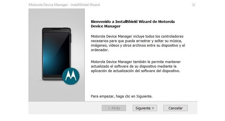 Instalación de drivers USB Motorola en Windows paso a paso